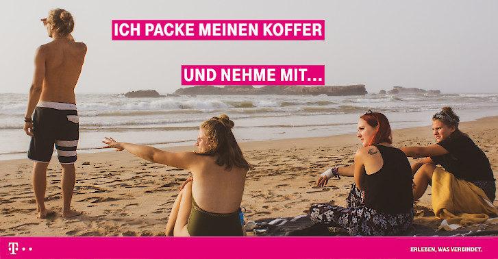 Gewinnen Sie mit Telekom eine Reise im Wert von 2000€
