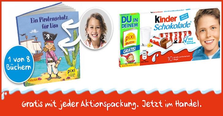 Kinderschokolade Pixi Gratis Buch