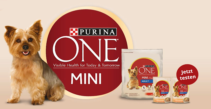 Purina One Gratis Futterprobe