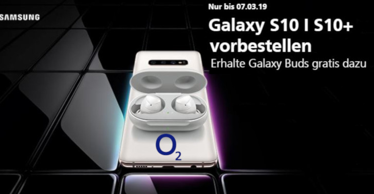 O2 Samsung S10+