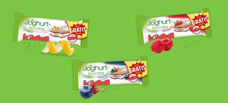 Joghurt Schnitte